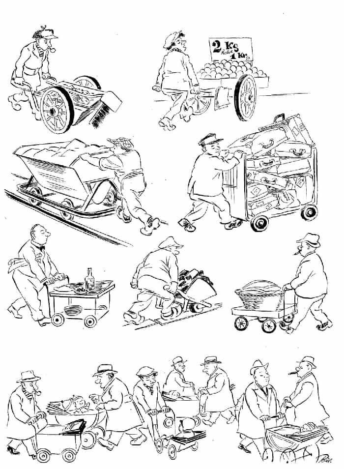 Херлуф Бидструп - Рабочий день и день отдыха