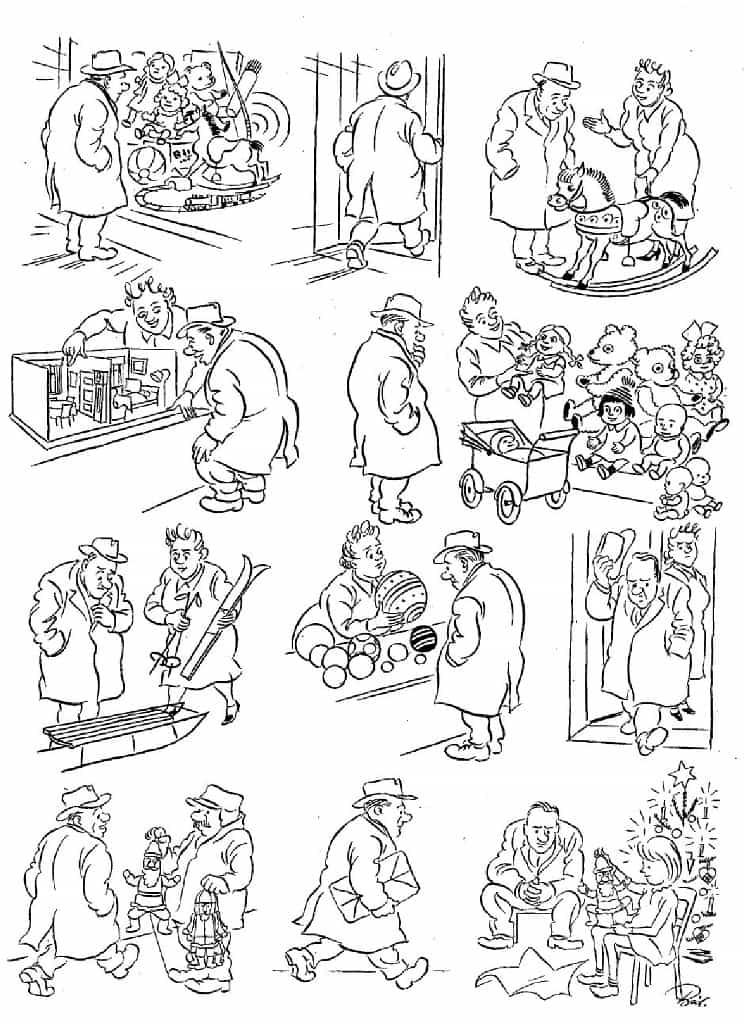 Херлуф Бидструп - Рождественский подарок