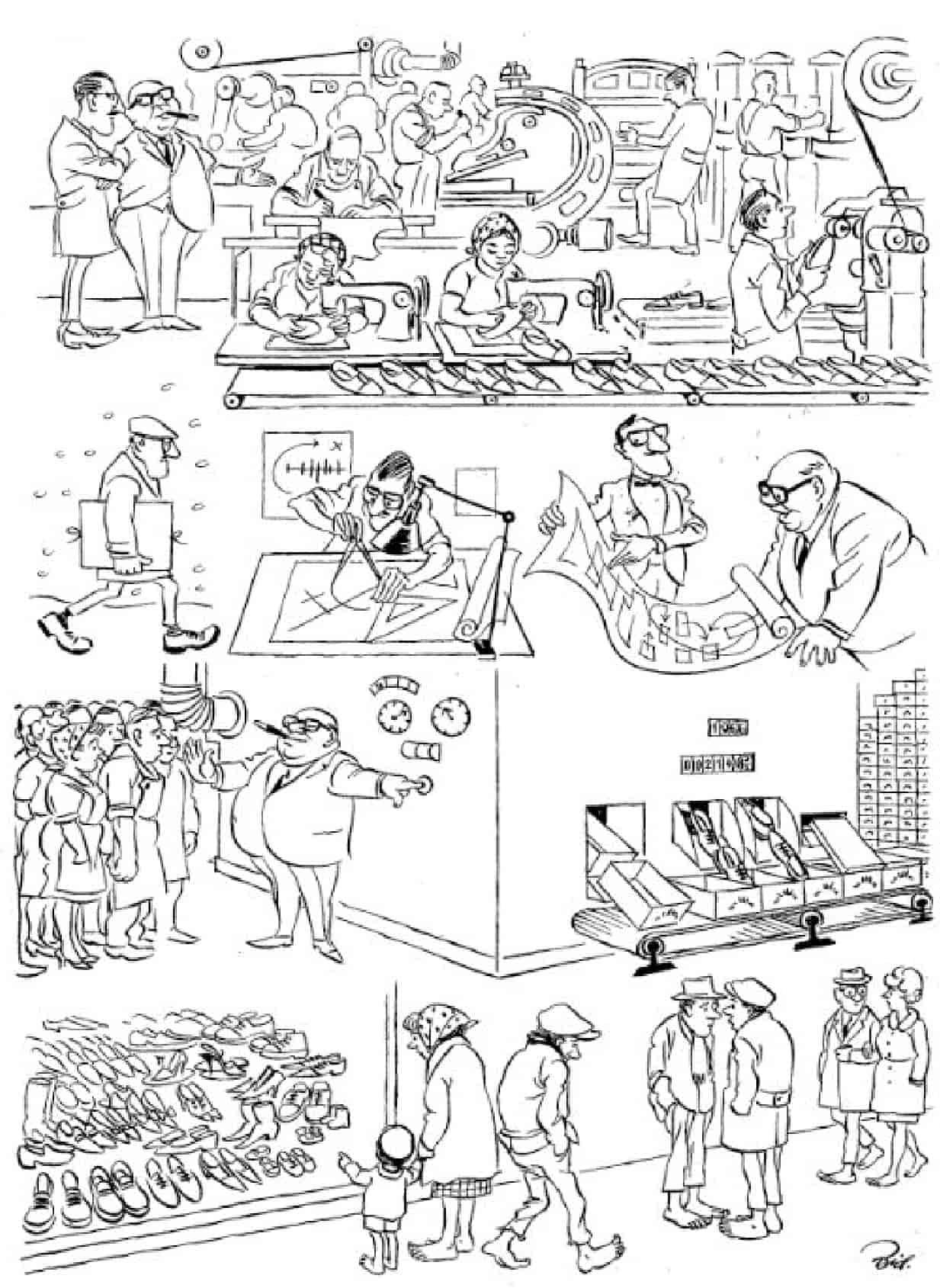 Херлуф Бидструп - Автоматизация