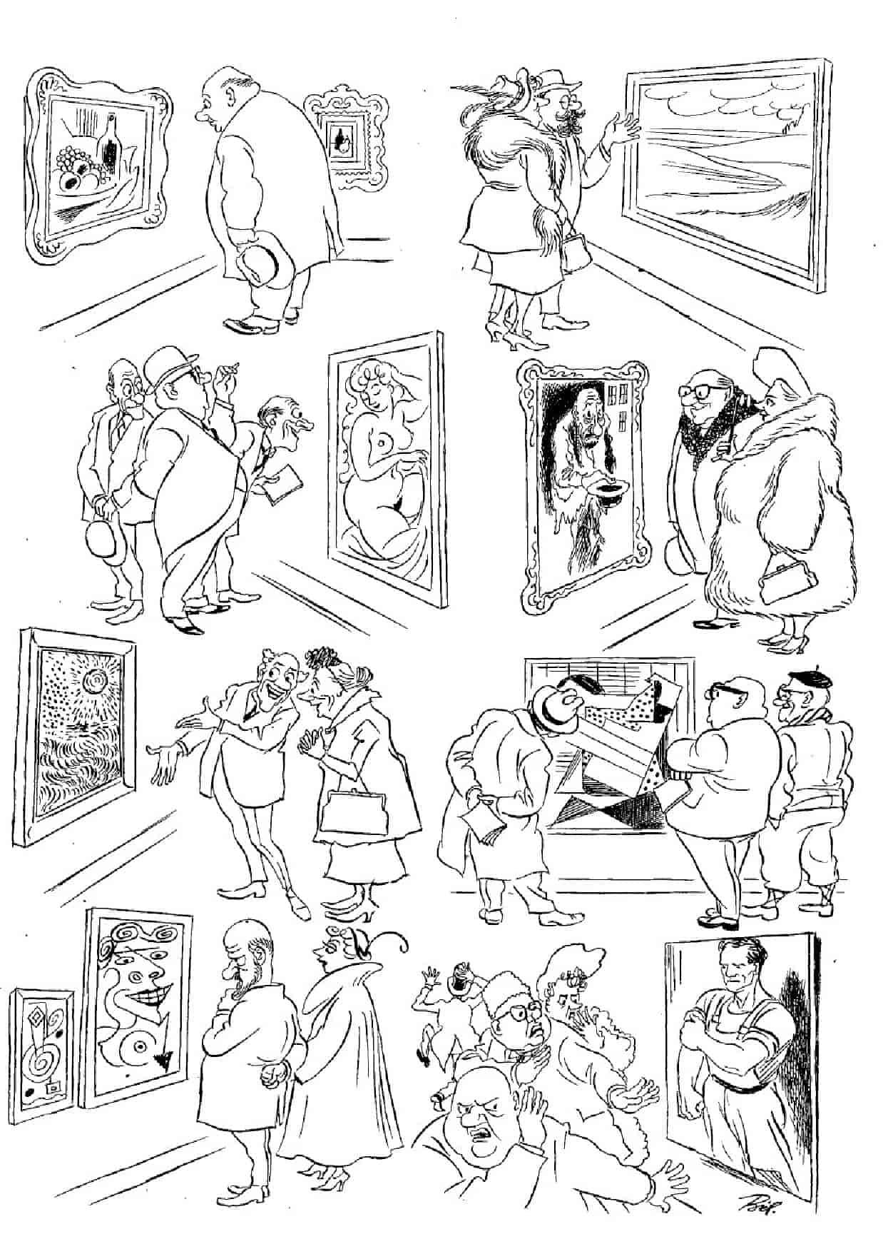 Херлуф Бидструп - Ценители искусства