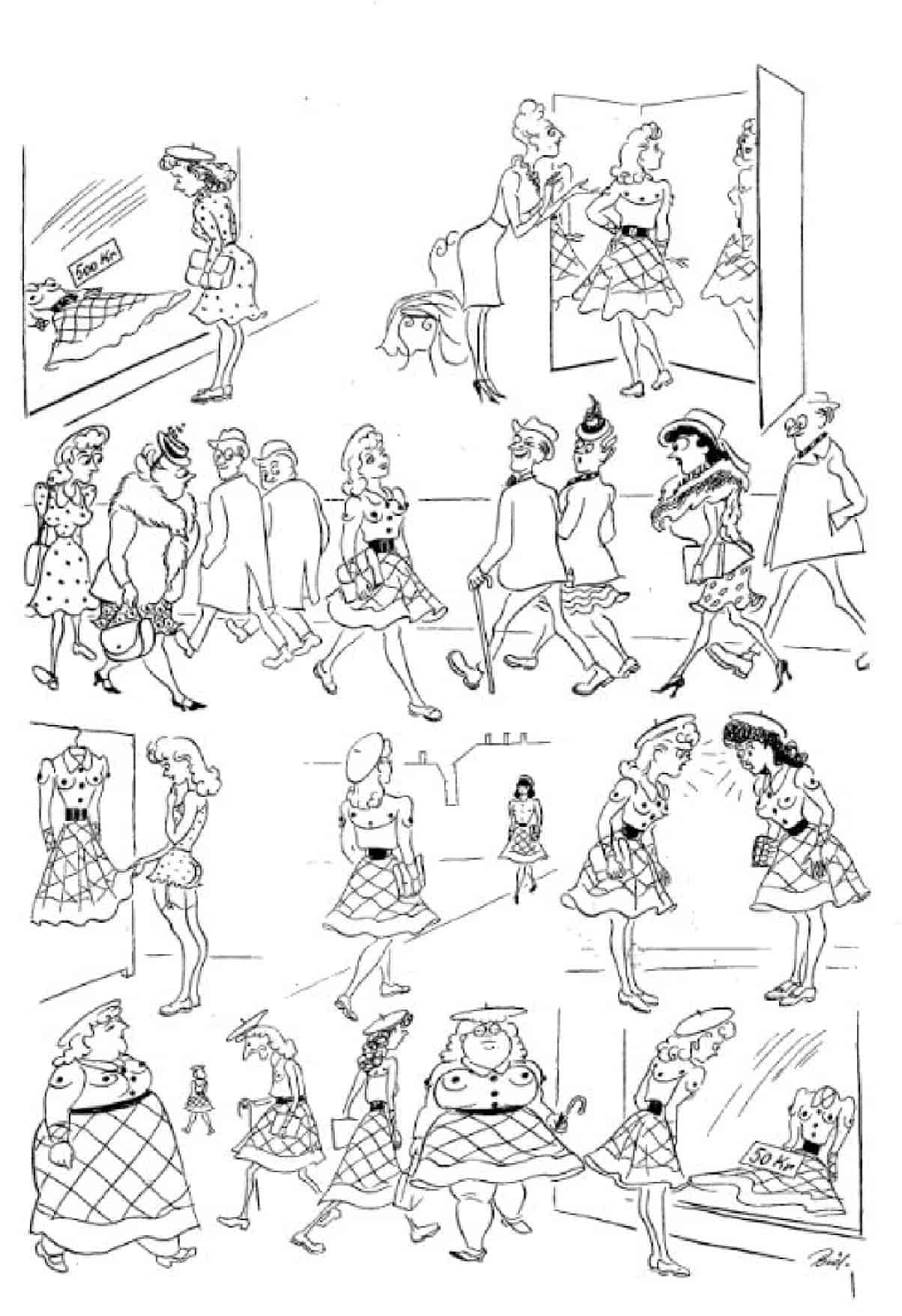 Херлуф Бидструп - Модное платье