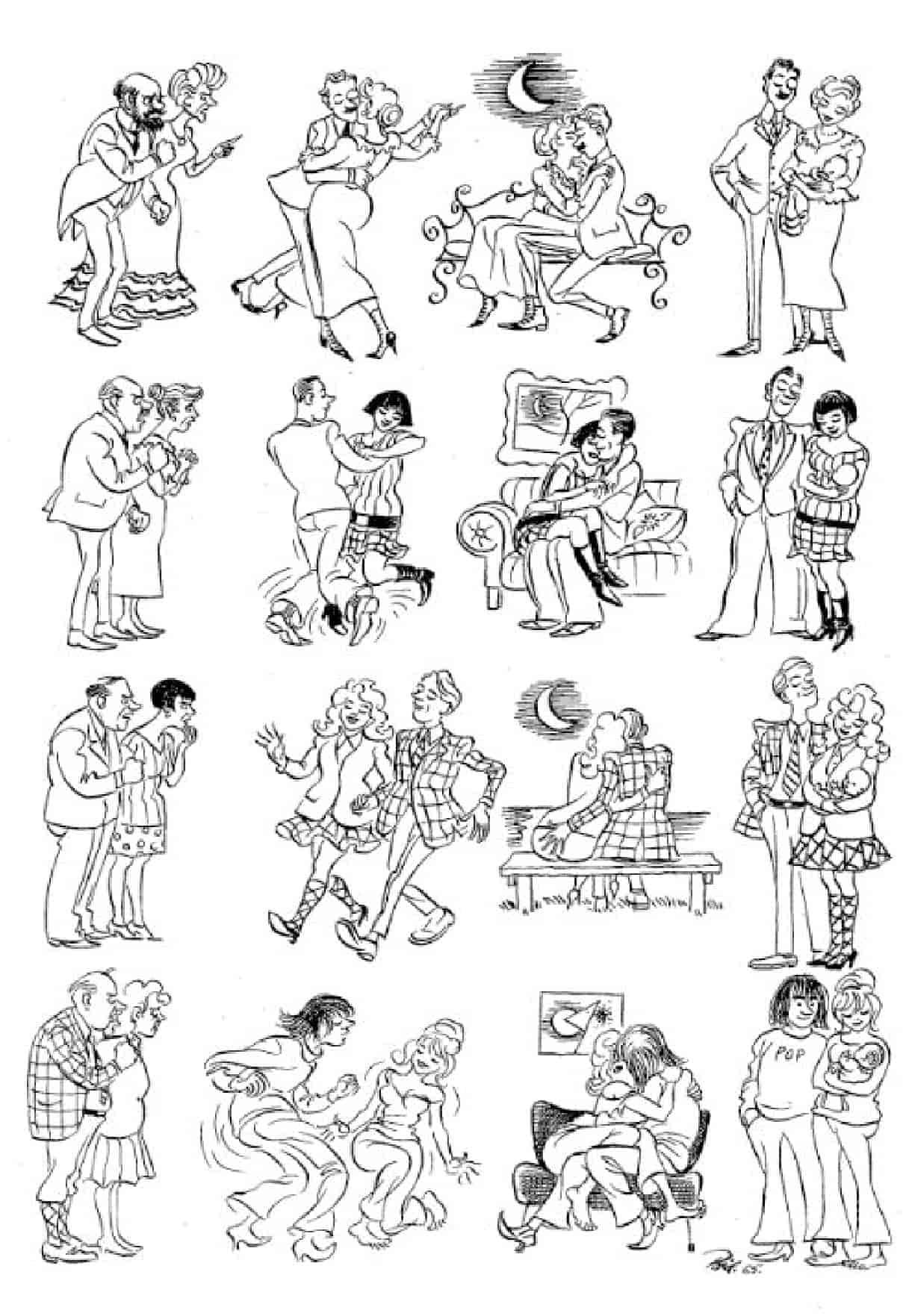 Херлуф Бидструп - Отцы и дети