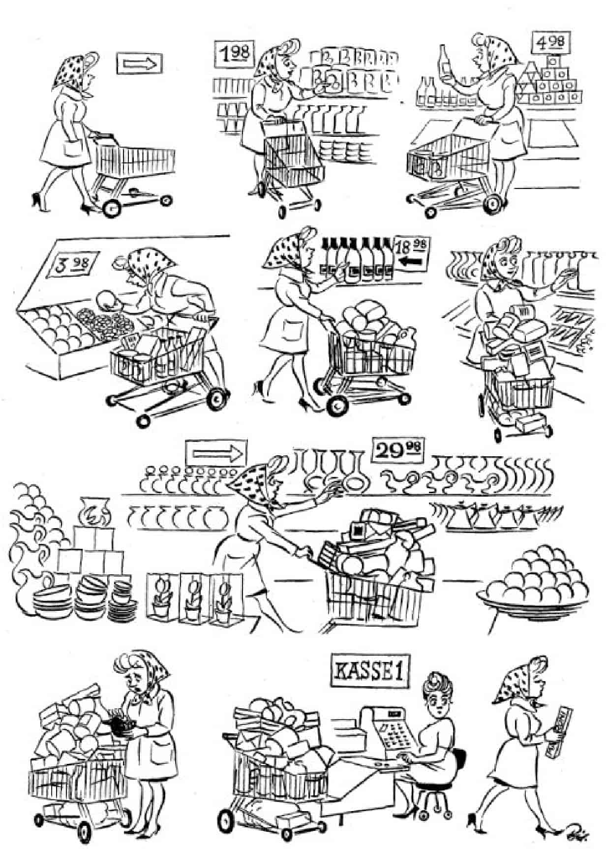 Херлуф Бидструп - Самообслуживание