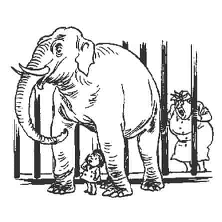 Херлуф Бидструп - Случай в зоопарке