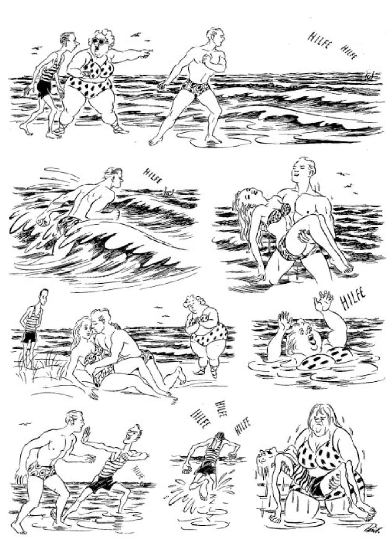 Херлуф Бидструп - Спасение утопающих