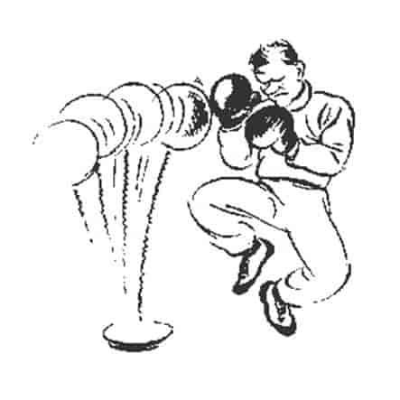 Херлуф Бидструп - Тренировка перед матчем