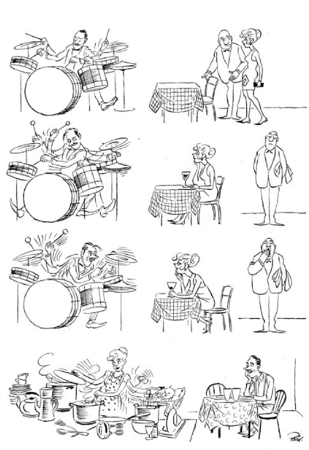 Херлуф Бидструп - Жена джазбандиста