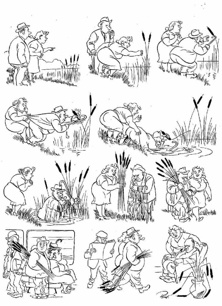 Херлуф Бидструп - Камыш