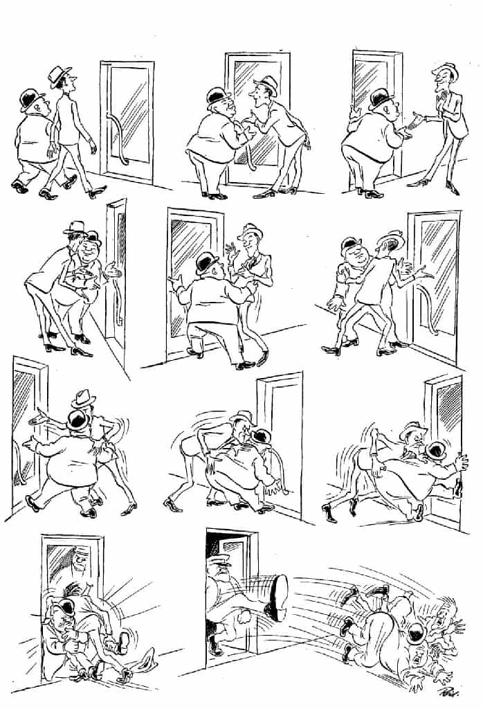 Херлуф Бидструп - Вежливость