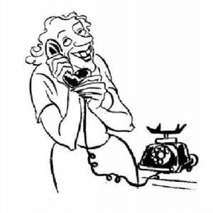 Херлуф Бидструп — Телефонный разговор