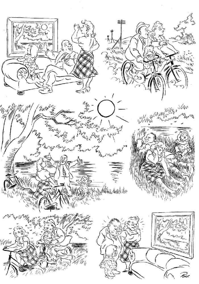 Херлуф Бидструп - На природе