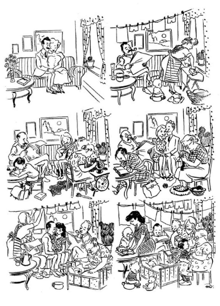 Херлуф Бидструп - Жилищная проблема